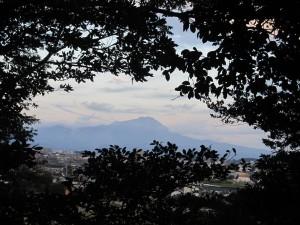 島根・鳥取旅行1日目に見た大山。
