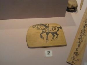 島根・鳥取旅行2日目に行った博物館にあった昔の絵馬。
