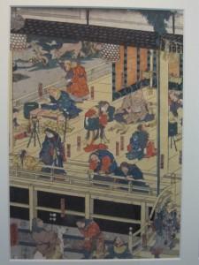 島根・鳥取旅行2日目に行った博物館にあった神在祭の絵。