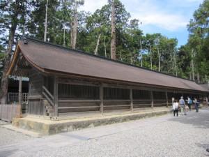 島根・鳥取旅行2日目に行った出雲大社の十九社。