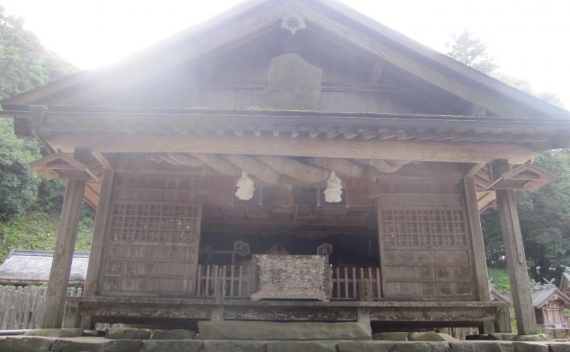 島根・鳥取旅行3日目その2~3つの神社と帰りの奇跡~