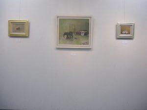 WakamatsuMei個展『小人の夢』会場風景(魔女の家、communitas、あなたがいない)